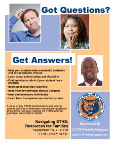 Navigating ETHS Flyer