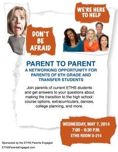 Parent to Parent Meeting 2014